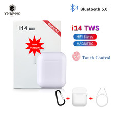 i14 tws Headset 1:1 In-ear Wireless fone Bluetooth 5.0 Earphone Earbuds Touch Control Sport for iphone xiaomi audifonos elari(China)