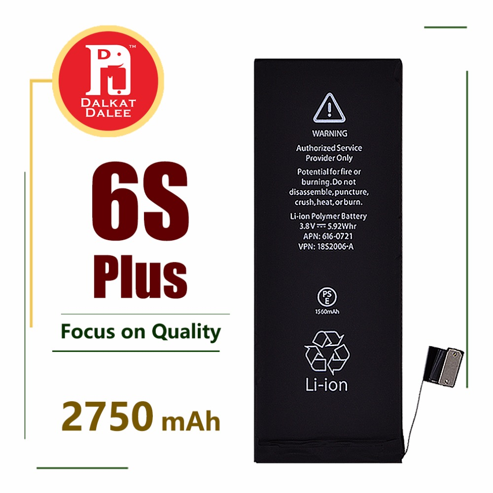 Battery For Replacement-Batteries IPhone 6s Plus 2750 Mah 6SP