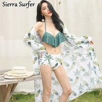 Swim Wear Áo Tắm Đồ Bơi Nữ Phụ Nữ Tankini Hai Mảnh Đối Với Giá Rẻ Sexy Tắm Suits Mới của Hàn Quốc Xù Dứa Tether