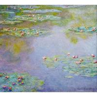 Large wall landscape pictures Water Lilies Claude Monet oil painting on canvas modern home decor
