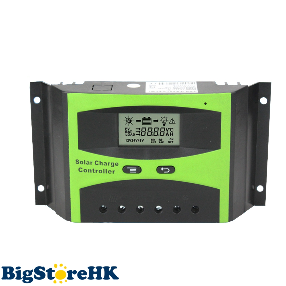 30A Solar Charge Controller 12V 24V LCD Display Light Timer Control Working Storage Function Adjustable Parameter Y-Solar solar charger controller 12v3a adjustable light control timer to take the amount of low priced factory outlets
