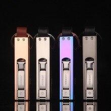 ขายส่งJobon USBชาร์จไฟแช็อิเล็กทรอนิกส์ลมบางเฉียบโลหะสร้างสรรค์บุคลิกลักษณะผู้ชายและผู้หญิง
