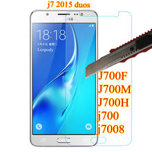 Tempered Glass For Samsung GALAXY j7 duos screen protector f