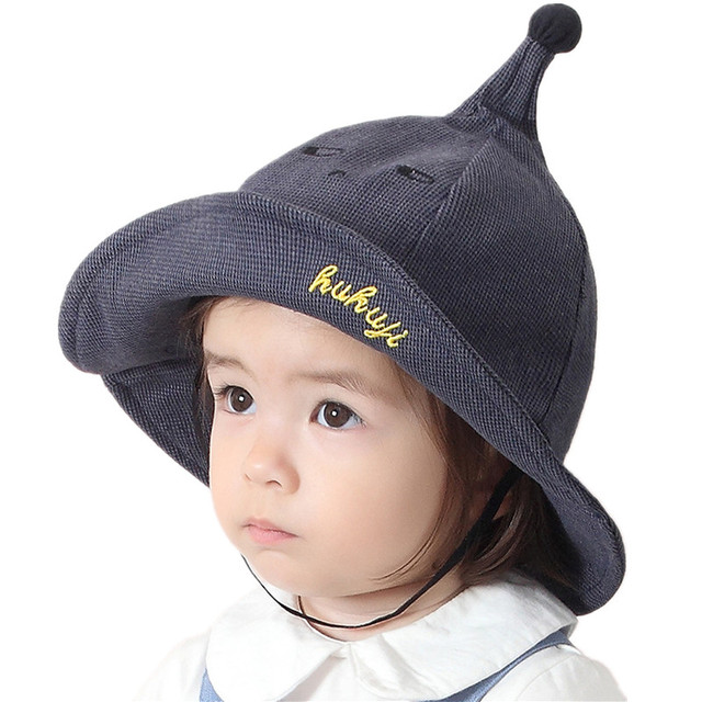 5065005dcdc5 US $4.49 10% OFF|Fashion Cotton Baby Sun Hat Spring Bucket Hats For  Children Boys Girls Fisherman's Caps Baby Summer Hat Outdoor Beach Visor  Cap -in ...