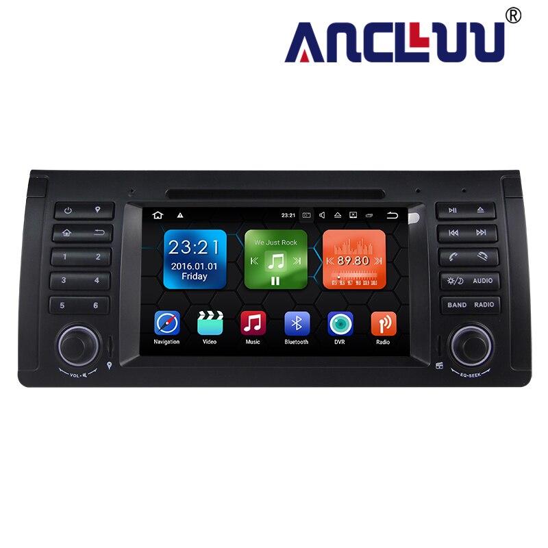 Lecteur DVD de voiture 2G RAM Android 9.0 pour BMW BMW E39 X5 M5 E38 E53 autoradio GPS stéréo headunit magnétophone support wifi canbus