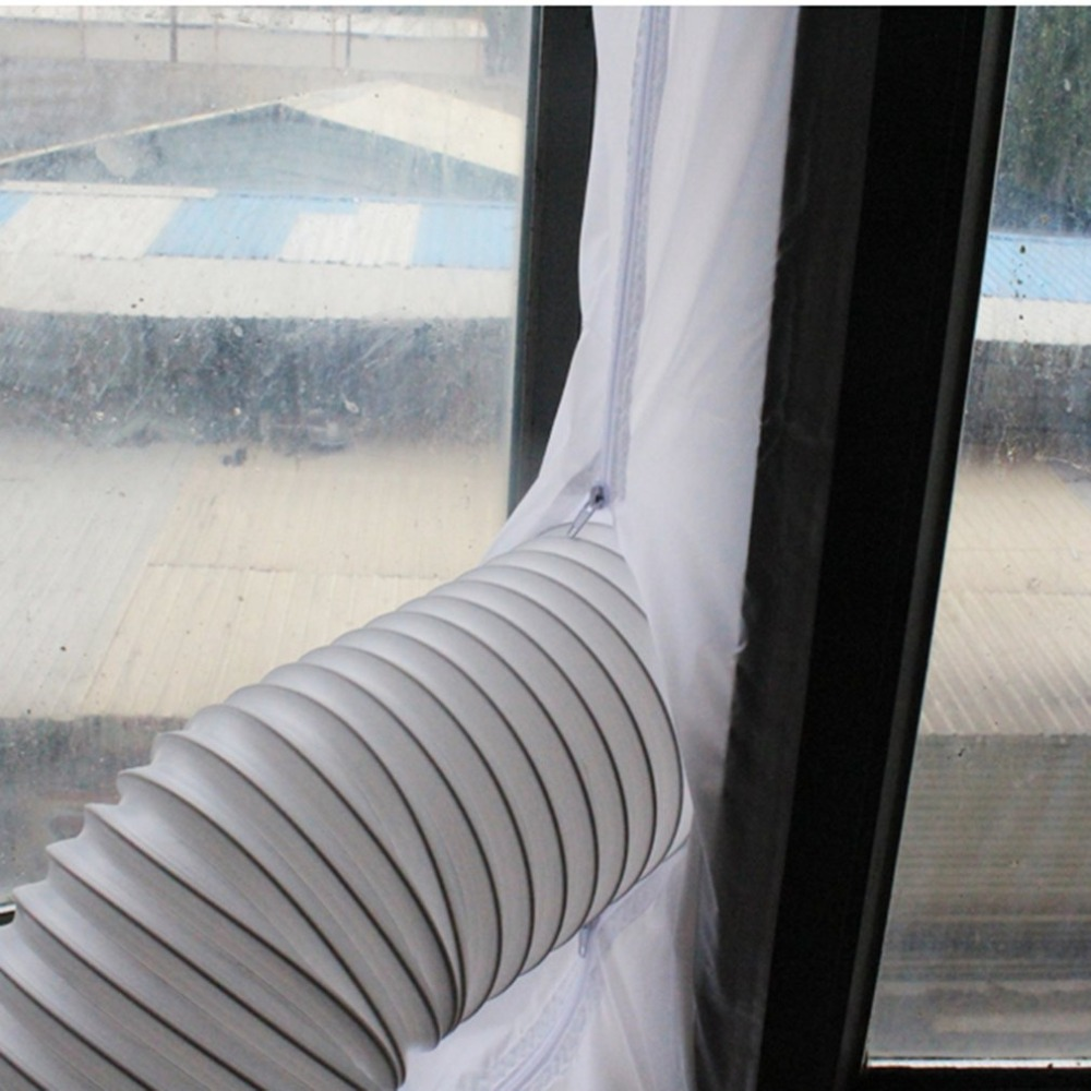 Airlock Window Sealing For Mobile Air Conditioners And Exhaust Air Dryers UV Resistant Waterproof For Standard Window
