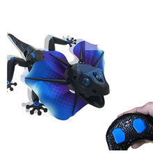 Infrared Remote Control Lizardbot 4 Modes RC Lizard RC Animal Kids Children Toys or pet toy(China)