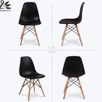 Fashion Simple Plastic Creative Leisure Coffee Plastic Tables Chairs Design Chair Stylish Dining Chairs Contemporary Desk