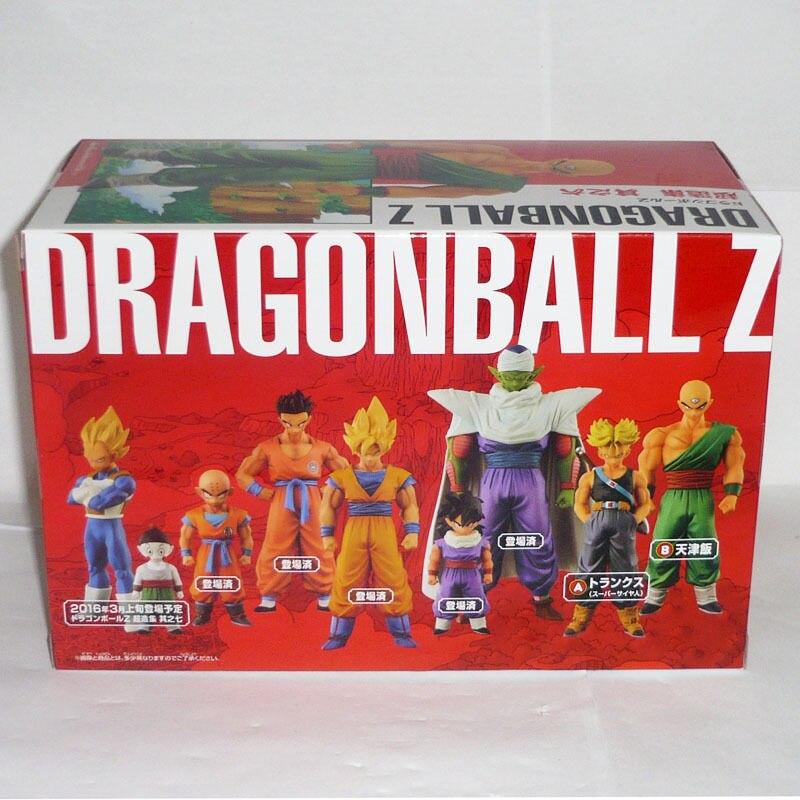 """El Anime japonés """"esfera de Dragon Ball Z"""" Original BANPRESTO Chozousyu figura de colección Vol.6 Tenshinhan-in Figuras de juguete y acción from Juguetes y pasatiempos    3"""