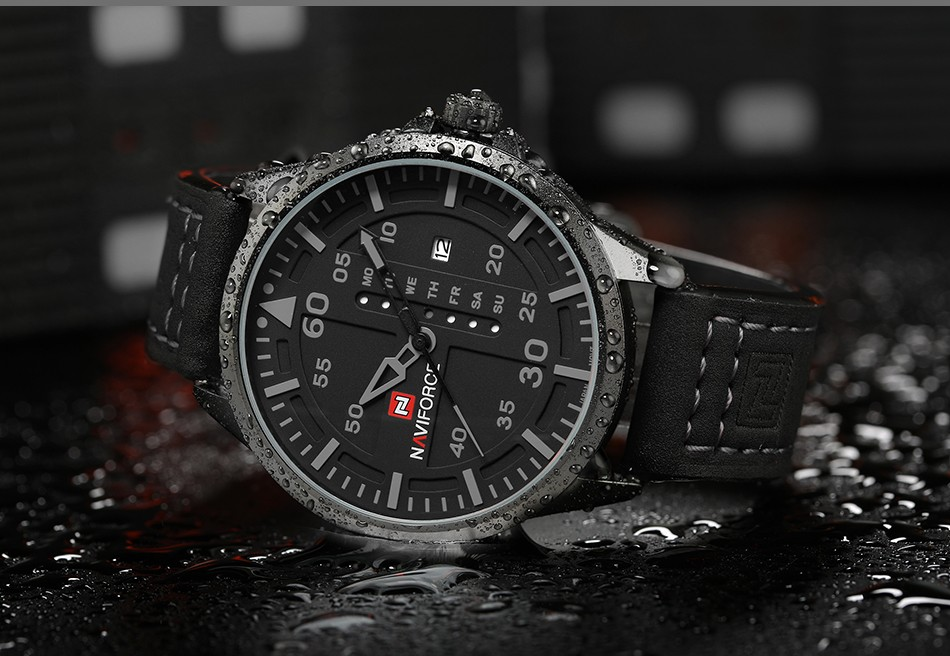 GUNNER military-style wristwatch by Naviforce