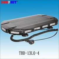 Mini Barra de luz LED TBD-13L0-4 de alta calidad  luz de emergencia  luz de advertencia intermitente para coche  interruptor de luz de cigarro a prueba de agua y polvo