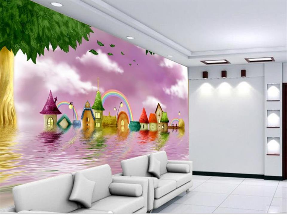 3d wallpaper photo wallpaper custom living room mural water on castle comic 3d painting sofa TV background wallpaper for wall 3d wdbh custom mural 3d photo wallpaper gym sexy black and white photo tv background wall 3d wall murals wallpaper for living room