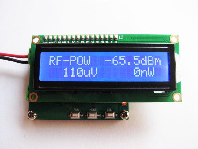 Digital RF Power Meter Intelligent Measurement RF Power Meter 0 1 2 4GHz