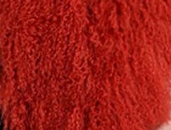 CX-G-B-51C настоящий монгольский овечка меховой жилет женский сексуальный короткий жилет зимнее пальто Меховая куртка - Цвет: red