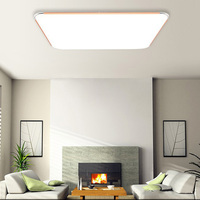 LED Ceiling Panel Bathroom Kitchen Light Bulb Dimmable Home Lamp Square 15W 220V