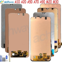 For Samsung Display A50 LCD A10 A20 A70 A90 Touch Screen Digitizer Assembly M20 M30
