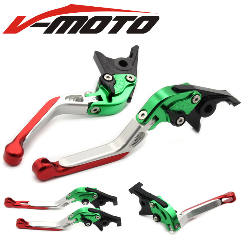 For Kawasaki Z900 Z 900 2017 VERSYS (650cc) 1000 VULCAN/S 650cc CNC Adjustable Folding Extendable Motorcycle Brake Clutch Levers adjustable folding extendable brake clutch levers for kawasaki versys 1000 w800 zzr1200 zrx1100 1200 8 colors