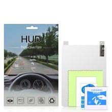 Voor 3-6Inch Auto Hud Reflecterende Film Head Up Display Beschermende Reflecterende Screen Verbruik Overspeed Display Auto Styling