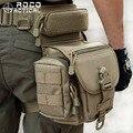 ROCOTACTICAL Открытый Многофункциональный Тактический Падения Нога Сумки Swat Военная Охота Инструмент Талия Пакеты Спорта На Открытом Воздухе Нейлона Cordura