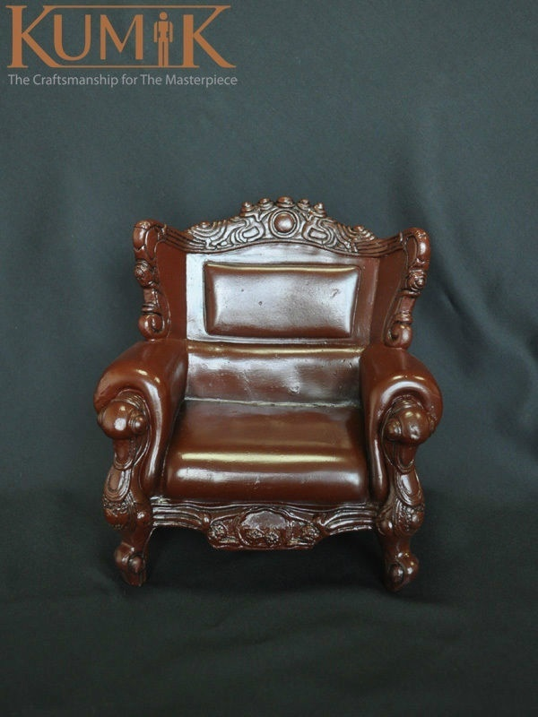 ФОТО 1:6 KUMIK Toys Hobbies Armchair Leather Sling Chair Couch Model For 12