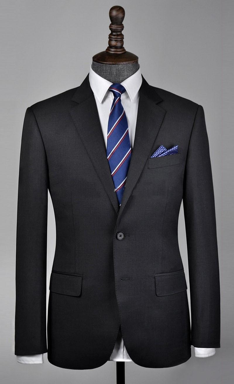 2018 custom мужской костюм темно серый BALZER платье костюм/Мужские костюмы с брюками/Свадебные Жених Wear смокинги /пляжный костюм (куртка + брюки)