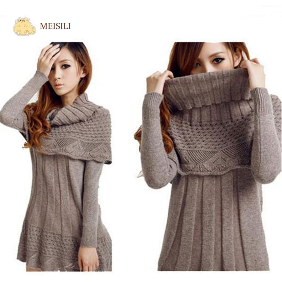 Aliexpress.com : Buy MEISILI Women Poncho Sweaters Autumn Women ...
