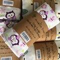 120*120 cm Muselina Swaddles Algodón Del Bebé Recién Nacido Mantas de Bebé Doble Capa de Gasa Mantener Envoltura Transpirable Saco de dormir Infantil Parisarc