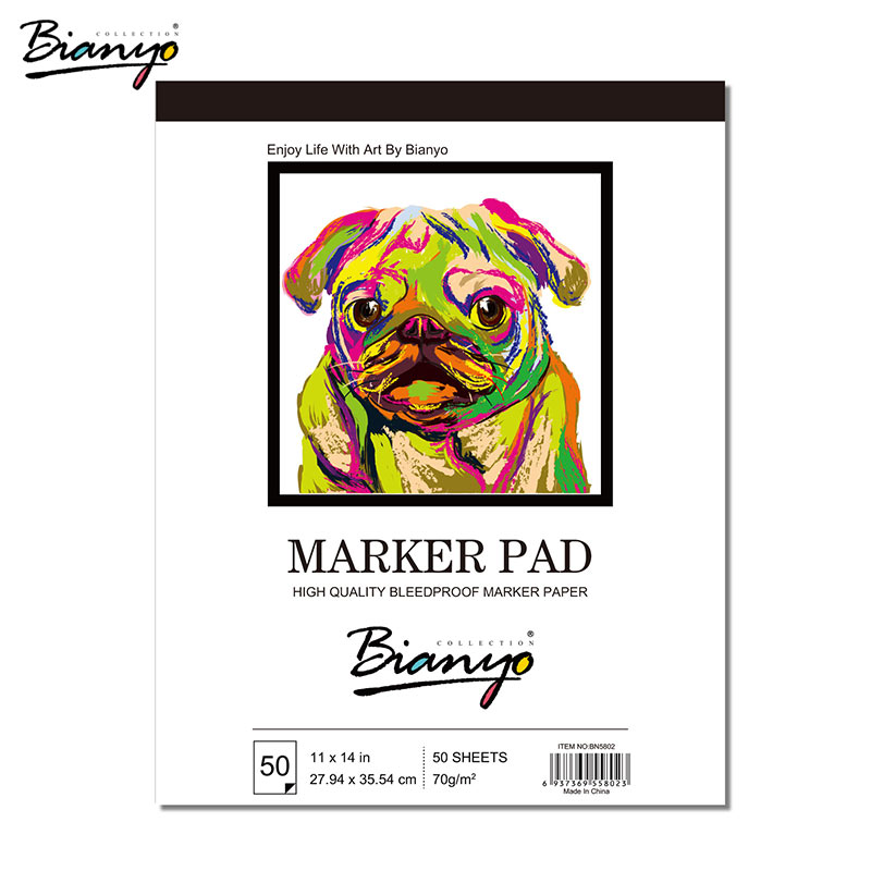 Bianyo Sketchbook Painting Notebooks 50 Sheets A3/A4 Artist Supplies Sketchbooks For Drawing Art Stationery Papers For Marker paris sketchbook jason brooks