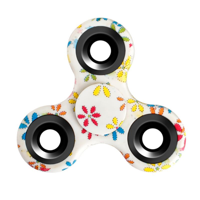2017 ADHD Kids Stress Relieve 2017 Tri-Spinner Colorful Hand Spinner Fidget Toy Autism