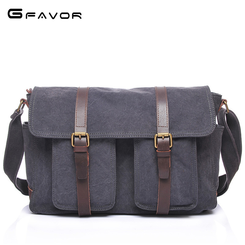 Vintage Canvas Travel Shoulder Bag Men Messenger Bags Fashion Cover Crossbody Bag Large Capacity Male Multi-function Laptop Bags 2017 canvas leather crossbody bag men military army vintage messenger bags large shoulder bag casual travel bags