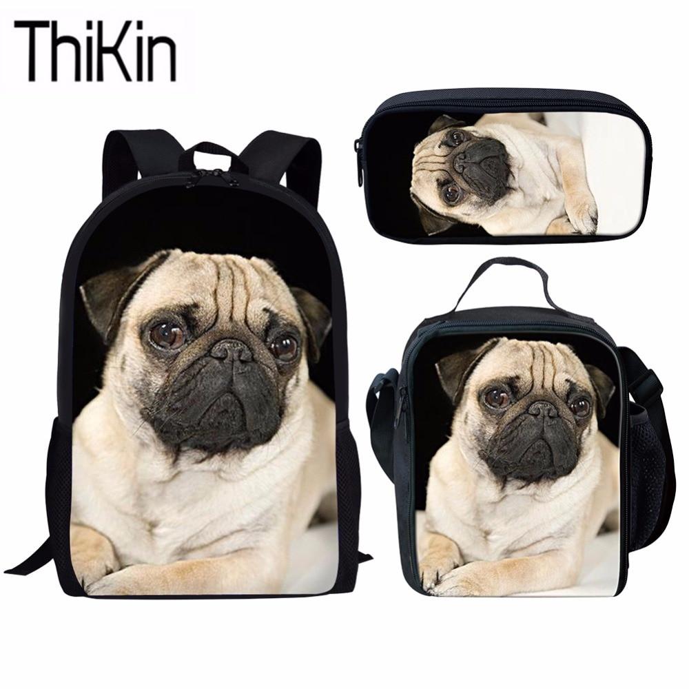 Cute Pug Dog Pet Style Iron on transfer A5