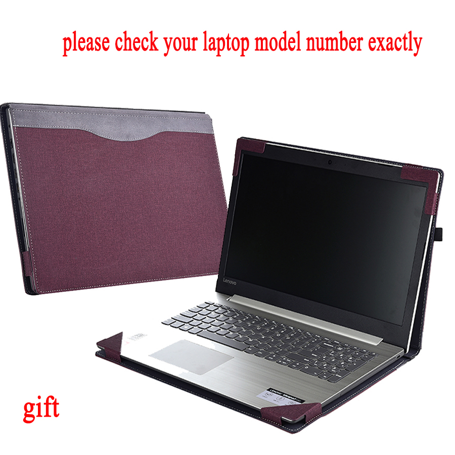 Case For Lenovo Yoga 510 15.6 510 15 For Ideapad 520 520 15 Laptop Sleeve Detachable Notebook Cover Bag Protective Skin Gift