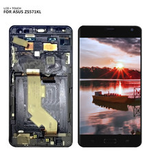 For Asus ZenFone AR ZS571KL LCD Display Touch Screen Digitizer Sensor Panel Assembly + Frame(China)