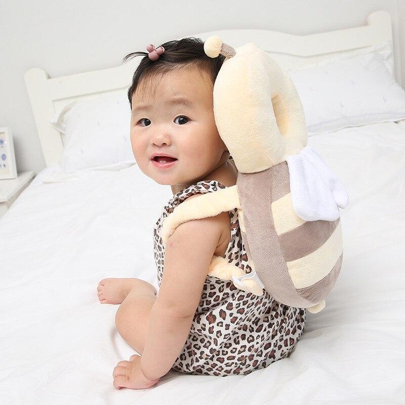 Для защиты головы площадки для шеи милый мультфильм Hello Kitty Bee крылья для кормления Drop Сопротивление подушки малыша подголовник подушка