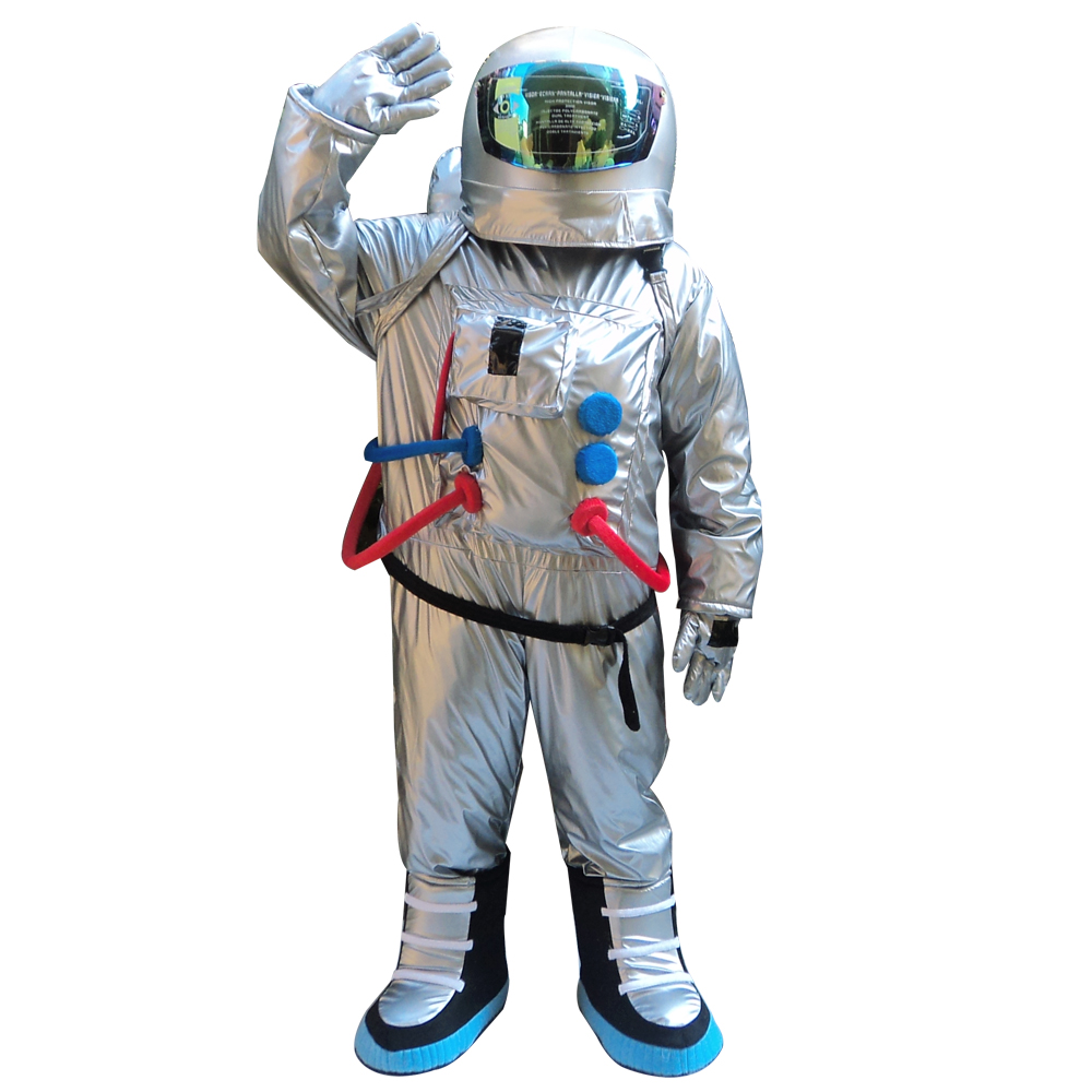 Hot Space Suit Mascot Costume  Astronaut Mascot Costume Aerospace Engineering Costume Universe Sandbox Costumes
