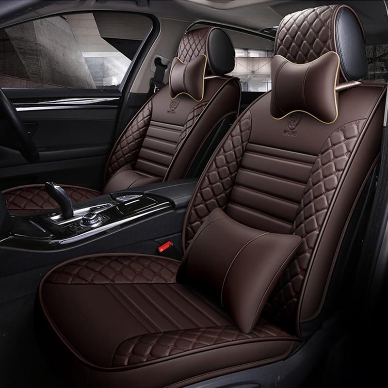 Universal car seat covers for chevrolet spark cruz captiva niva aveo sail optra for dodge challenger