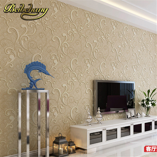 Superb Beibehang Modern Simple Pure Color Non   Woven Wallpaper Dining Room Living  Room Sofa Background Bedroom