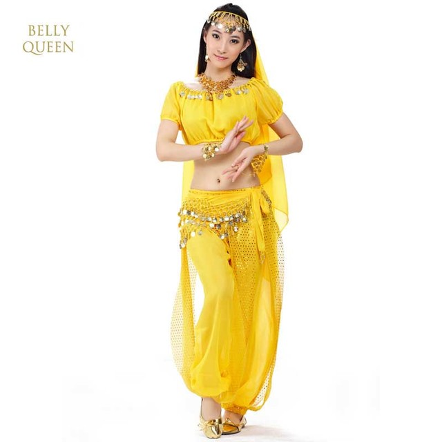 3PCS/SET Indian Belly Dance Costumes For Ladies