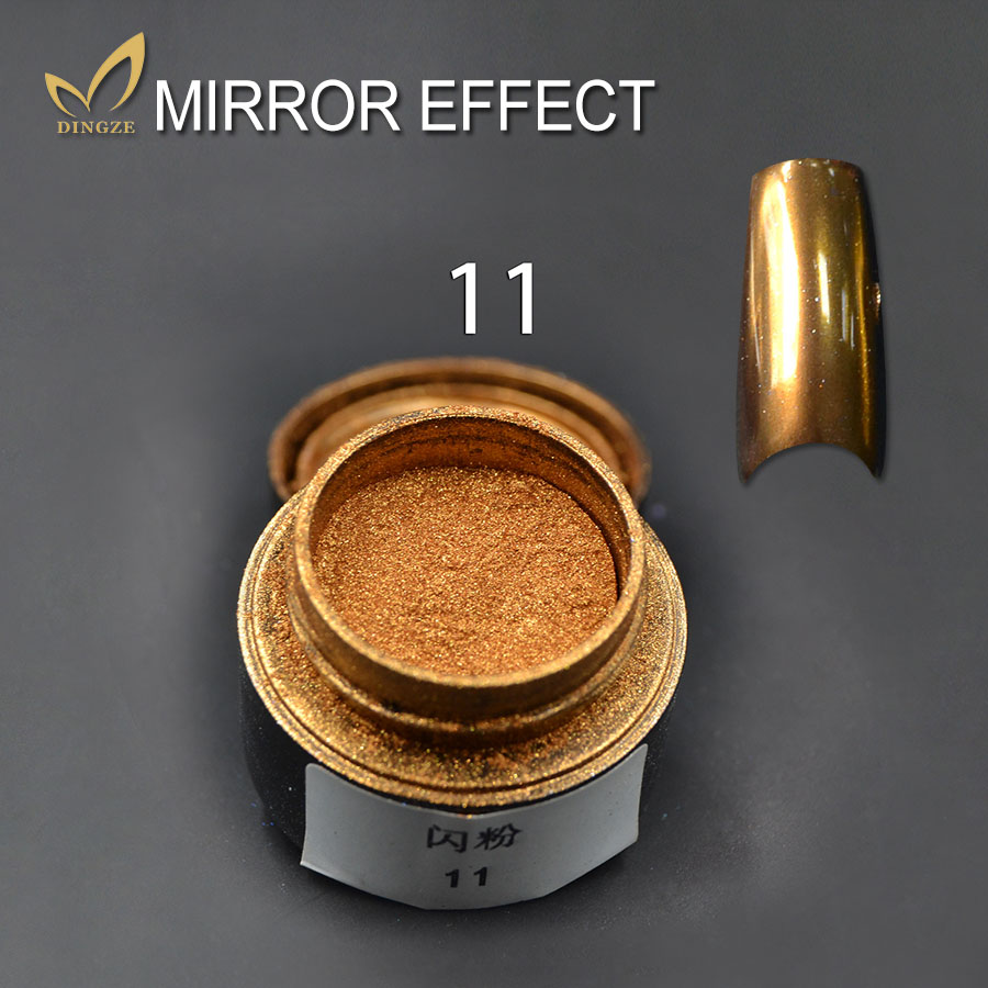Mirror Powder Ultrafine Aluminium Chrome font b Nail b font Gliiter Powder Pigment Sequins font b