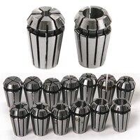 High Quality 15pcs Set ER11 Precision Spring Collet Set For CNC Engraving Machine Lathe Mill Tool