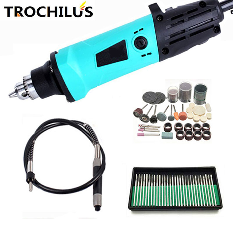 Trochilus 380W Angle grinder multifunction electric engraver rotary variable speed mini grinder DIY creative combination tool 660v ui 10a ith 8 terminals rotary cam universal changeover combination switch