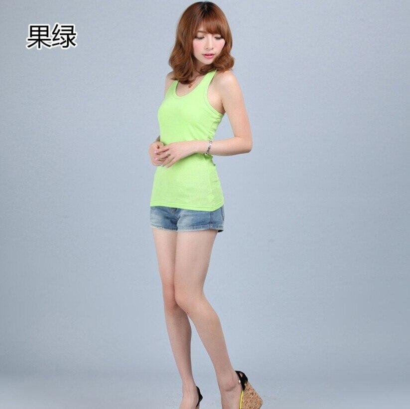 Ücretsiz Kargo Yaz Rahat Renkli Vücut Mizaç Tankı üstleri Demeti - Bayan Giyimi - Fotoğraf 3