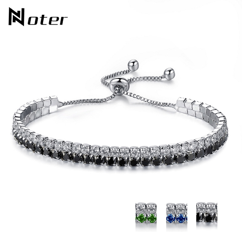 2018 New Arrival Double layer Link Chain Luxury Crystal Tennis Bracelet For Women Girls Braslet Jewelry Accessories Pulsera Gift