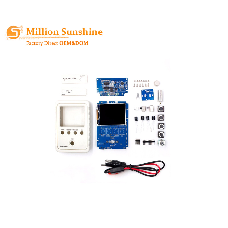 Free Shipping Tech DSO150 15001K DIY DIY Digital Oscilloscope Unassembled Kit With Housing Original DSO-SHELL