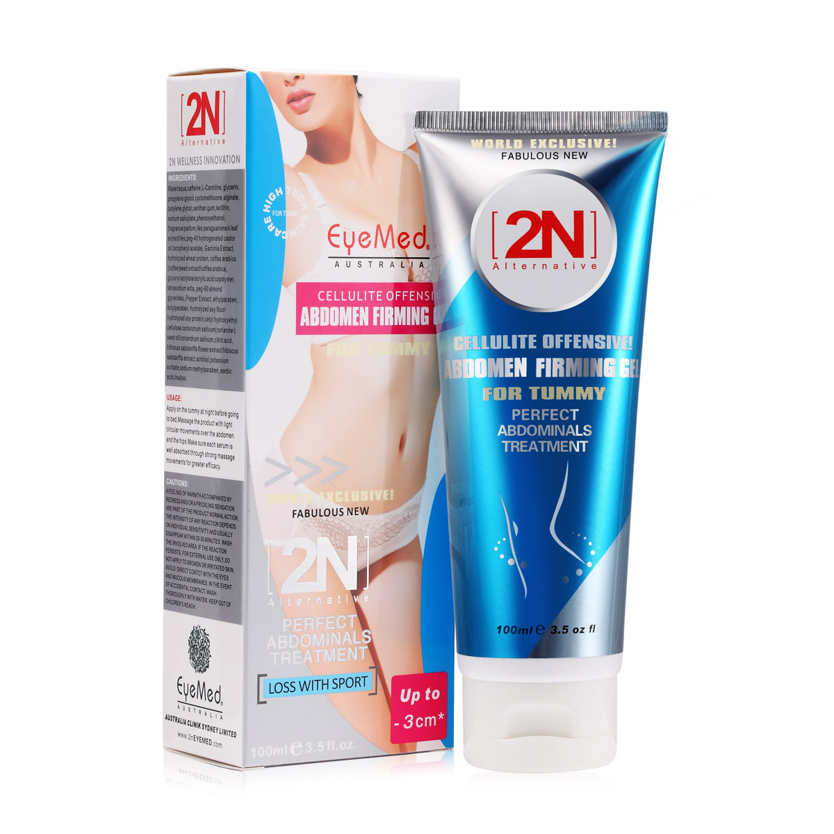 2N Stomach Fat Burning Gel for weight loss body anti cellulite slimming products to lose weight and burn fat health care creams new 100% pure plant powerful fat burning slimming essential oil anti cellulite natural leg full body thin weight lose product