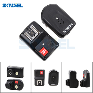 Image 5 - Professional 4 Channels Wireless Remote Speedlite Universal Flash Trigger for Canon Nikon Pentax Olympus PT 04GY free shipping