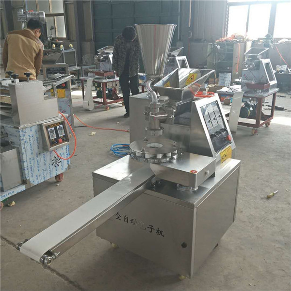 Automatic India Momo Steamed Stuffed Bun Moulding Machine To EU Popular