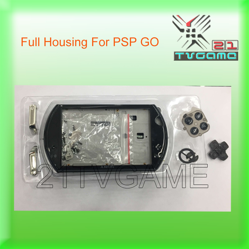US $23 5  Free Shipping 2017 NEW Color Black Full Housing Case For PSP GO  Replacement Shell With Small Parts For PSP GO-in Cases from Consumer