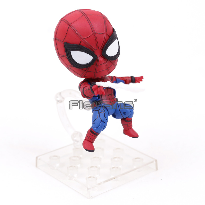Nendoroid Spiderman Homecoming Edition 781 PVC Action Figure Collectible Model Toy Doll