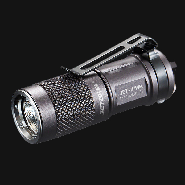 JETBeam II MK II-MK JET-II MK Cree XP-L HI LED 510 Lumens Waterproof Mini Flashlight  Small Size , Easy For Everyday Carry